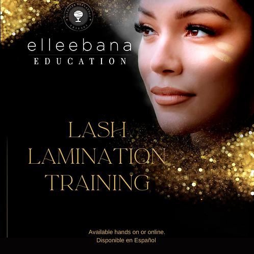 Elleebana Lash Lamination Course