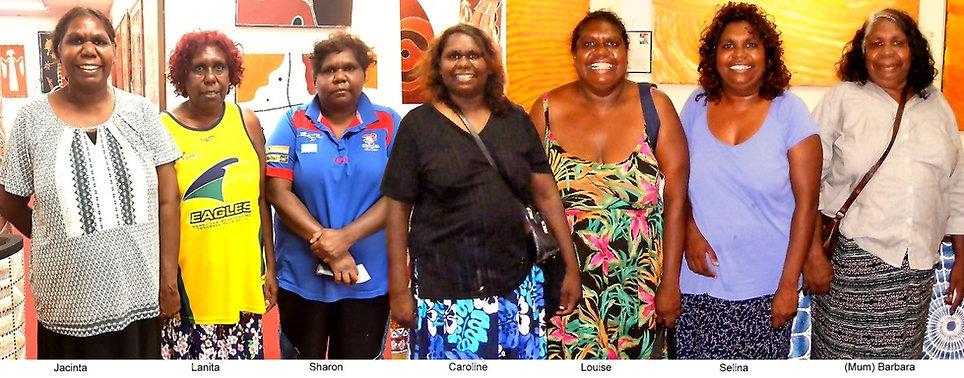 6 sisters and mum Numina family.jpg
