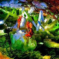 The Crystal Cave Mexico - 98% humidity,