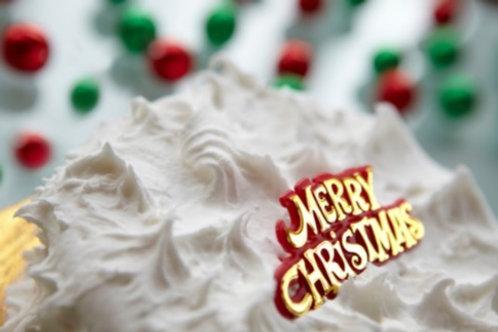 "Whiskey Christmas Cake 7"""