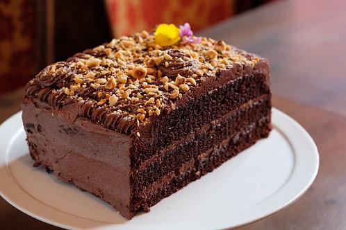 Chocolate & Hazelnut Cake