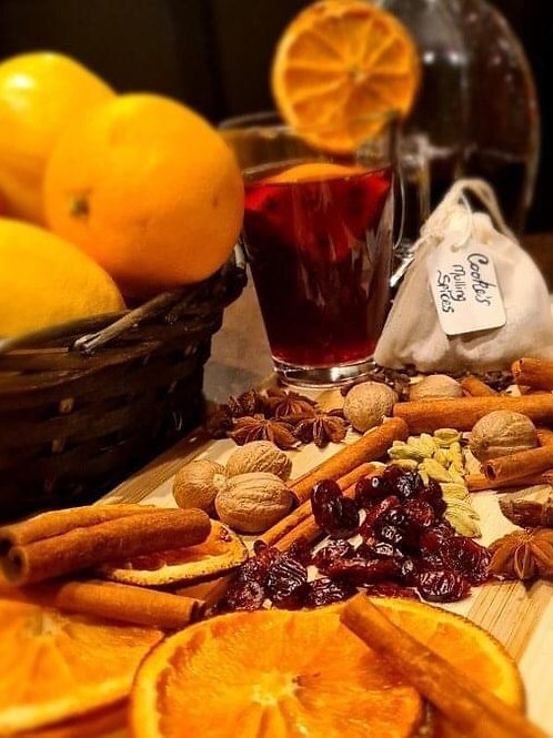4 Mulled Wine Spice Bags