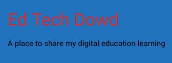 EdTech Dowd | Using Code to Teach the Design Process
