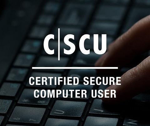 Certified Secure Computer User | CSCU