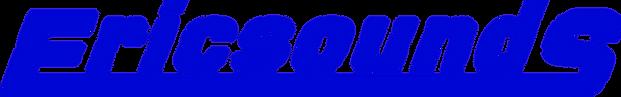 Ericsounds logo transparent WAY BLUE.png