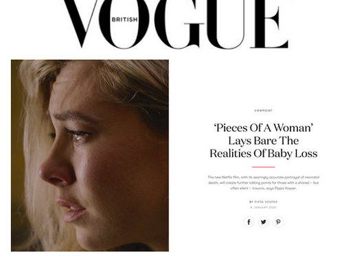 Pieces of a Woman / British Vogue