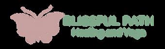Blissful Path Logo - alternate layout tr