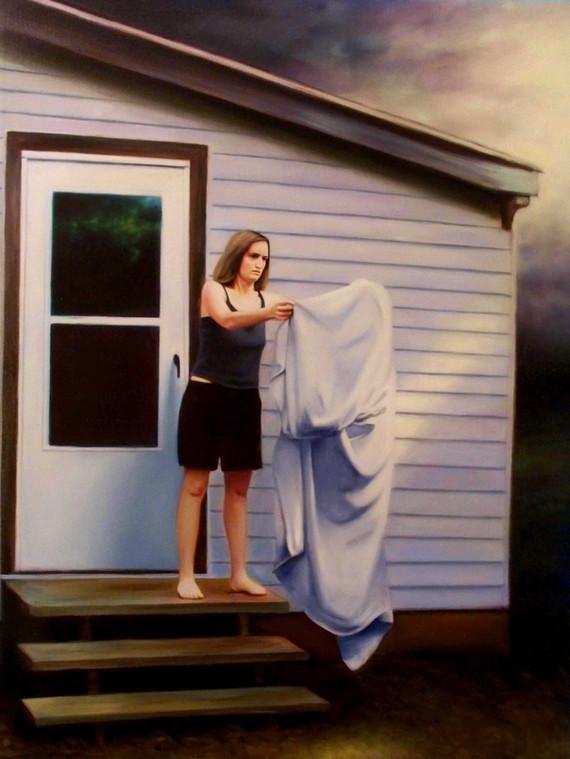 Dirty Laundry/Veronica #2, 2008