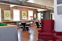 Corporate lounge area