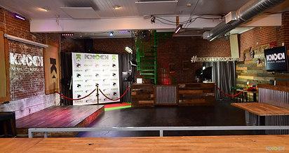 Dance floor on our main level