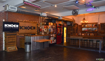 Wide view of main dance floor and bar