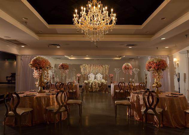Bridal party reception