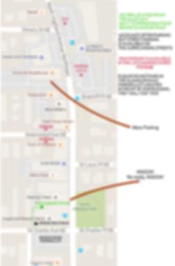 Map of Parking in Virginia Highland Atlanta