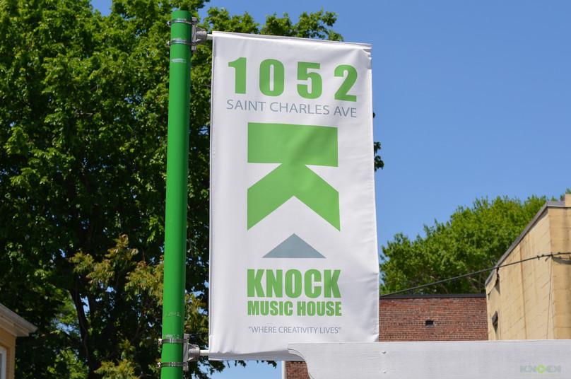 Knock Logo at St. Charles
