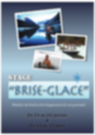 "Stage ""Brise glace"""