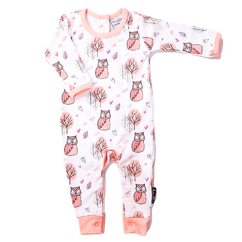 LITTLE OWL - Romper Coverall