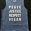 Thumbnail: Justice - Mens Muscle Tee BLUE