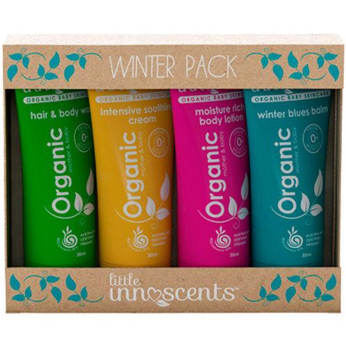 Organic baby Winter Travel Pack
