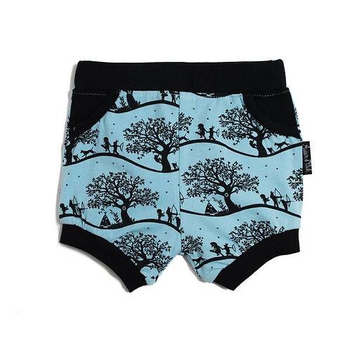 Enchanted Fields Harem Shorts
