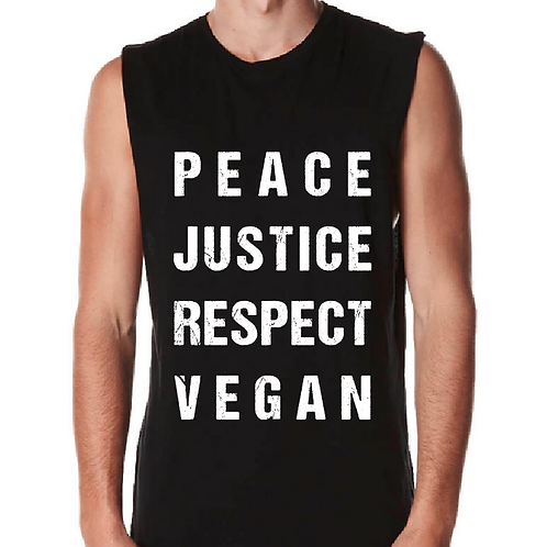 JUSTICE - Mens Muscle Shirt