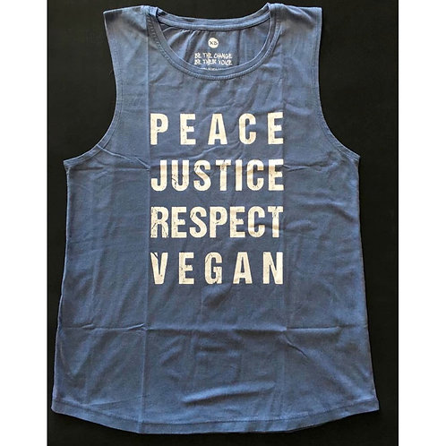 JUSTICE - LADIES Muscle Shirt