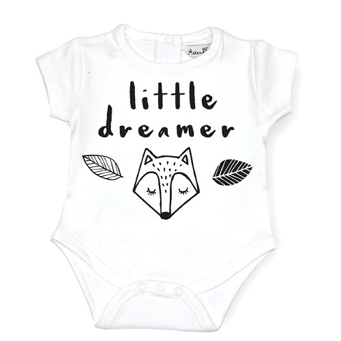 LITTLE DREAMER - Onsie Bodysuit WHITE