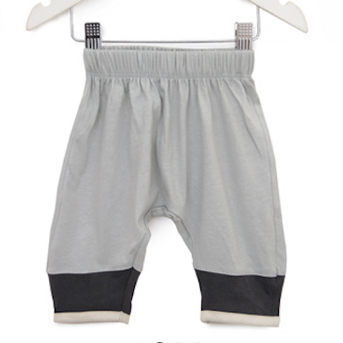 Hipster Baby Pants - Light Grey