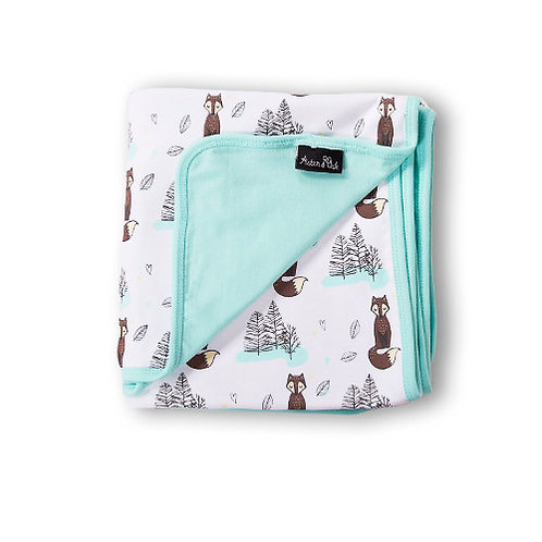 MR FOX - Organic Baby Wrap Blanket