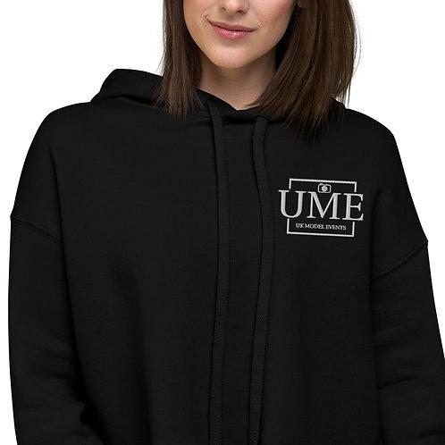 UME Women's Embroidery Crop Hoodie