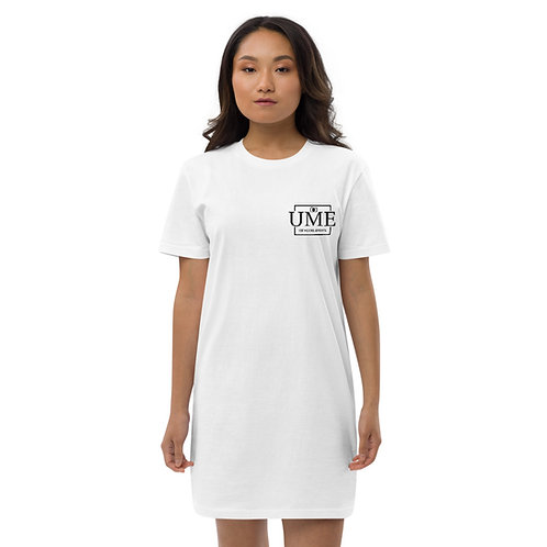 UME Embroidery Organic Cotton T-shirt Dress