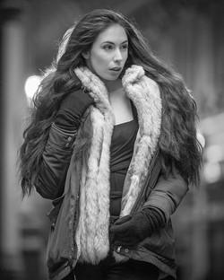 A killer shot of model Elle Beth by phot