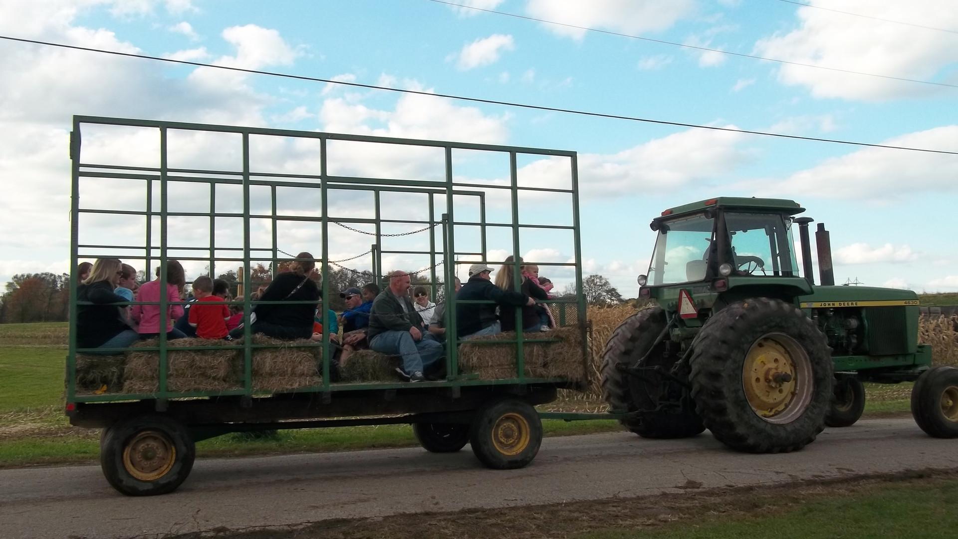 hayrides near boyertown