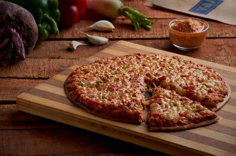 Vej india Underground Paneer Pizza