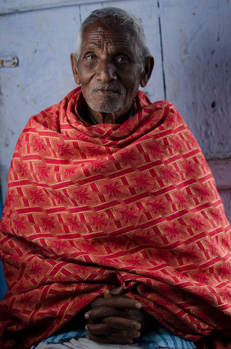 Portrait of an old indian man from the nilgiris