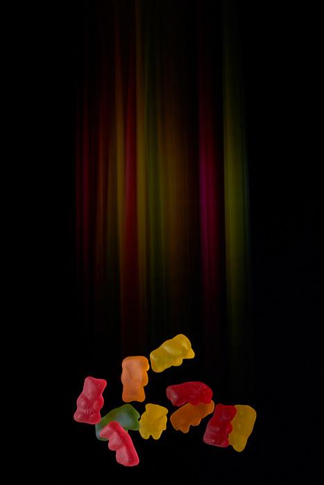 Gummy bears fine art food photography