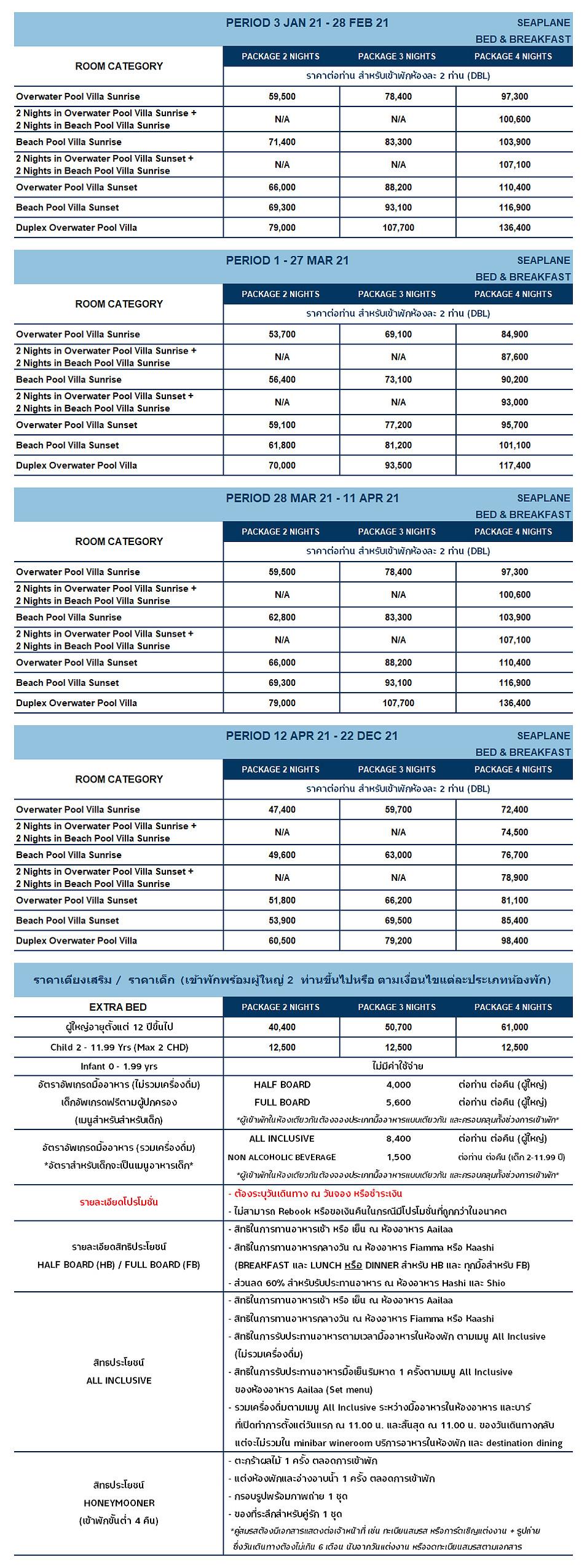 Meeru Resort ราคามีลู่ รีสอร์ทมัลดีฟส์