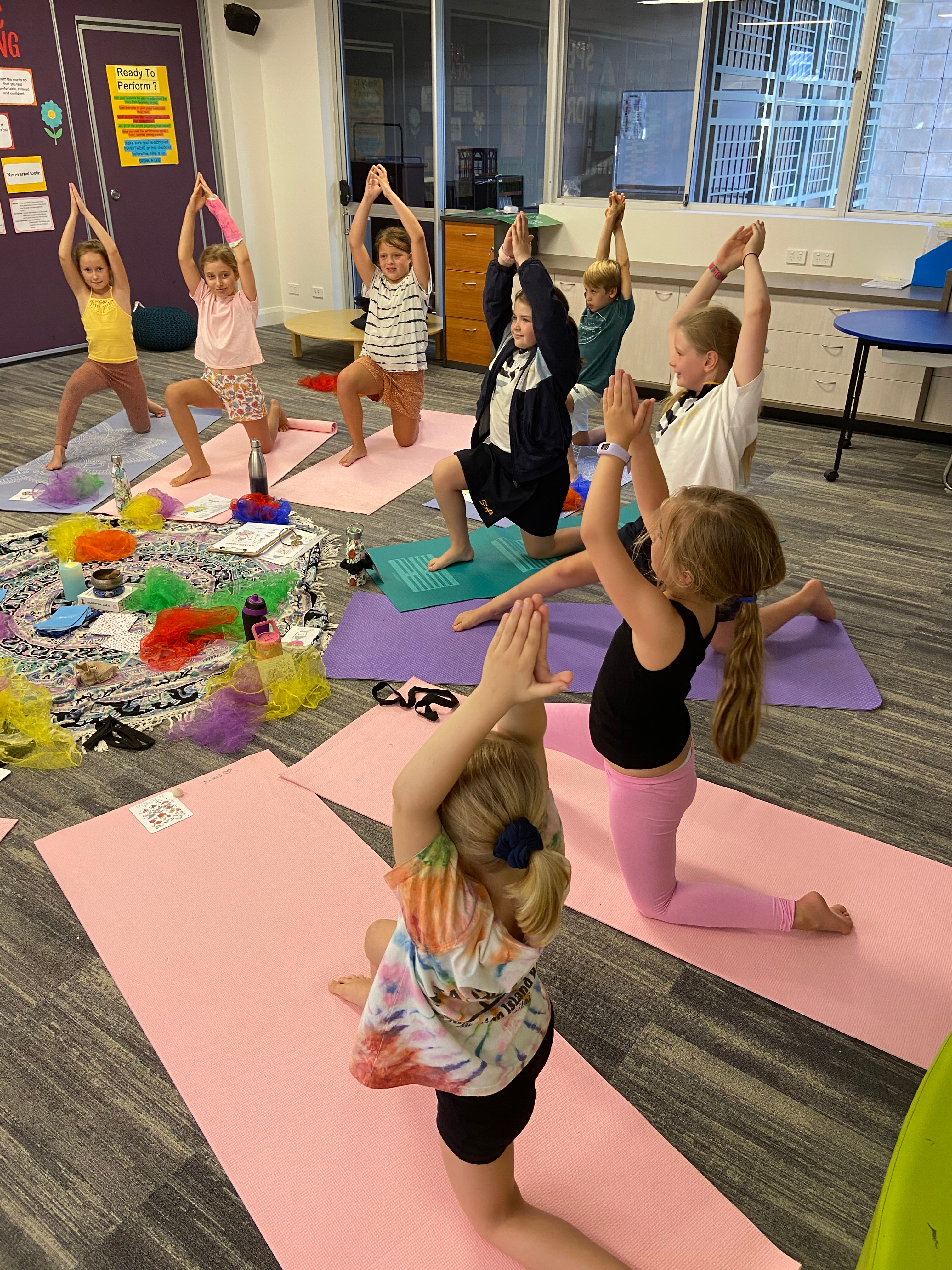 10 Weeks: After School Yoga Program