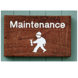 IN HOUSE MAINTENANCE & REPAIRS