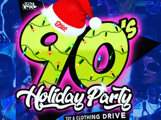 90's Holiday Party