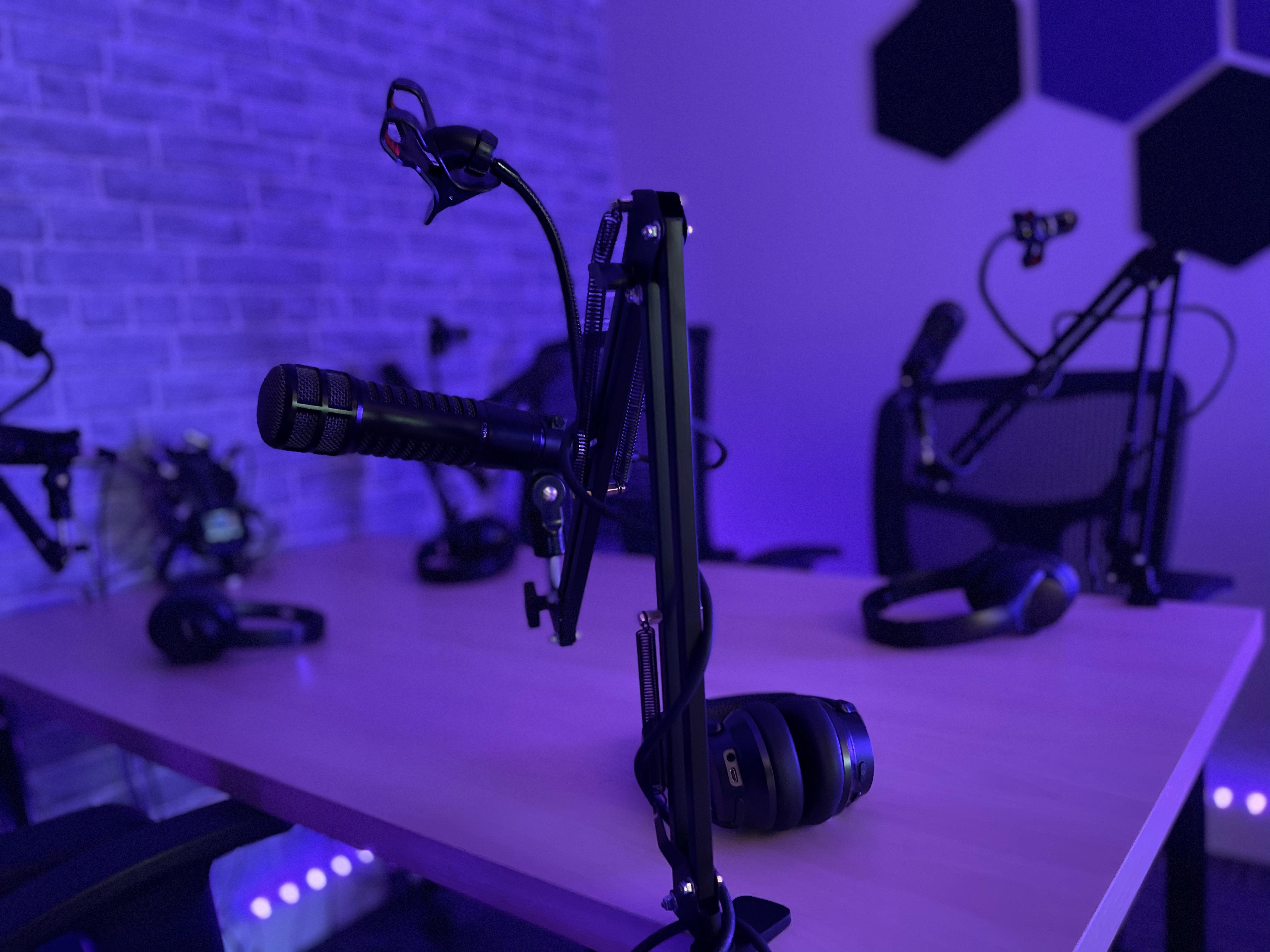 Audio Podcast Studio