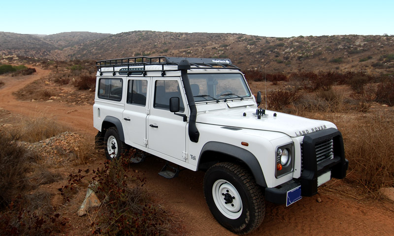 Defender 110 Standard Basket Rack