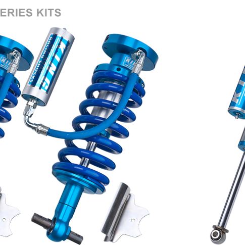 """Chevy/GM 1500 2.5"""" Remote Coilover/Shock Kit"""