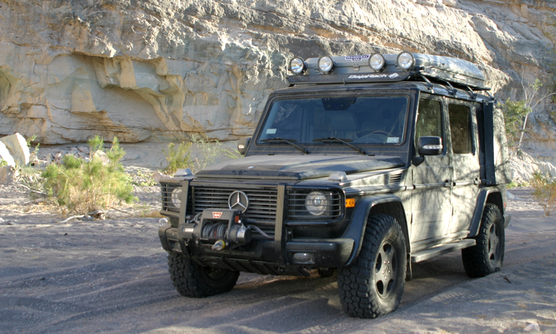 G-Wagen UTility (flat) Rack