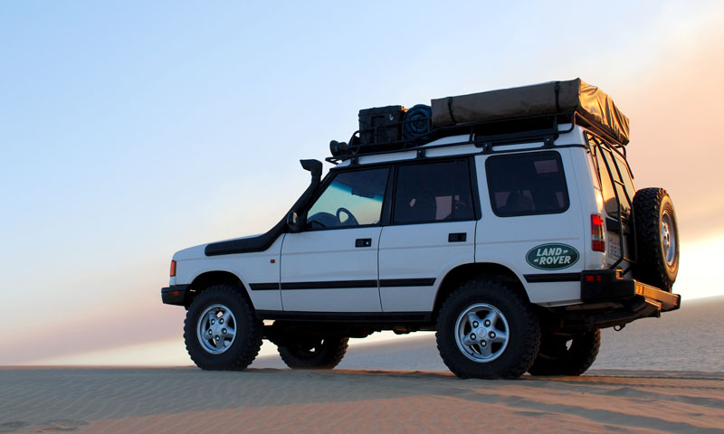 Discovery I & II EXPedition Rack