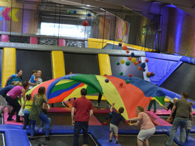 JUMP STREET FUN WITH OUR PARC UNDER 5'S