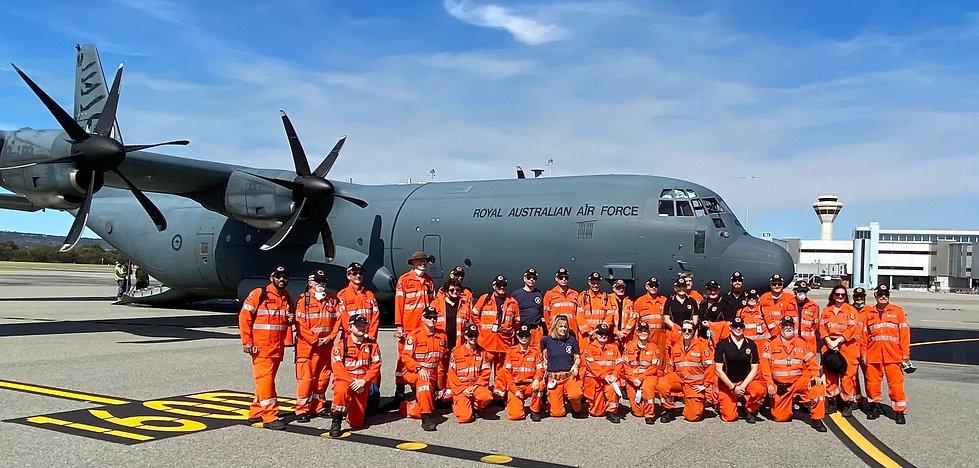 2021 TC Seroja Deployment Pearce Airbase
