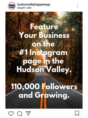 Get Featured on HVH Instagram