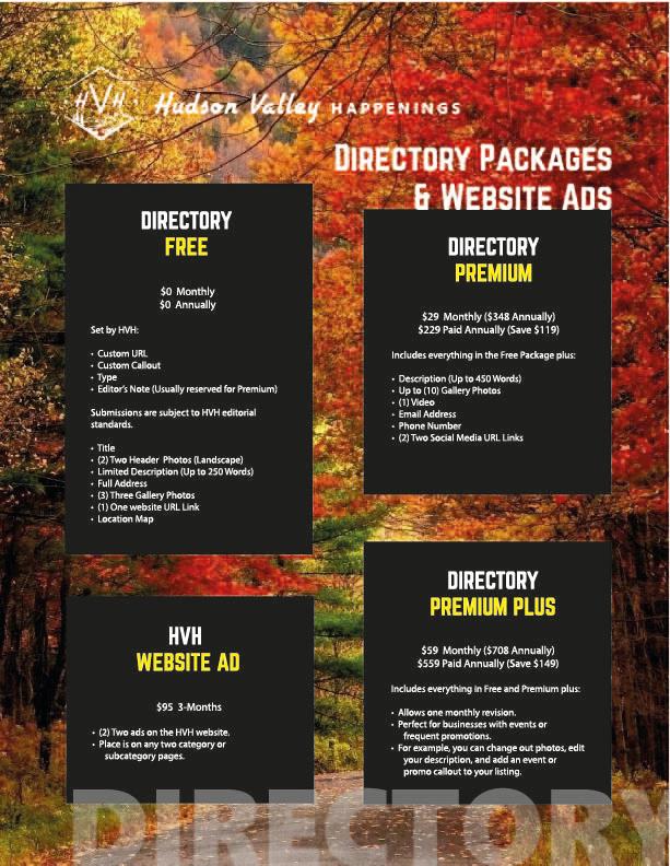 Media Kit - Website Packages