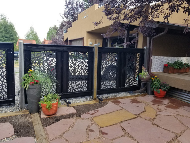 Custom Iron Fence