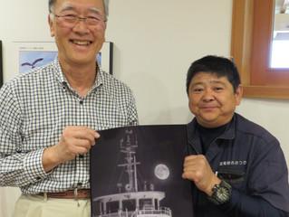 写真家 松若隆幸さん(右)の写真展が開催されます